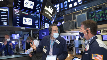 Inflation fears have global sharemarkets on edge.