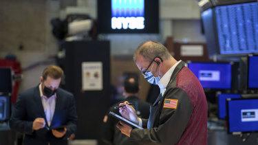 Wall Street has made a sluggish start to the week.