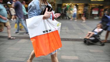 Australia's retail trade rose 1.4% in October.