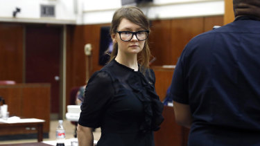 """Russian-born fraudster Anna """"Delvey"""" Sorokin pretended to be a wealthy German heiress in New York."""
