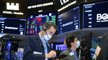 Wall Street roared higher on Tuesday in New York.
