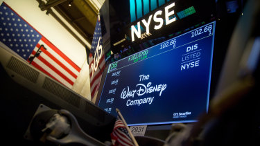 Since late January, when Shanghai Disneyland closed because of the coronavirus in China, Disney shares have fallen almost 30 per cent.