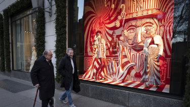 The Bergdorf Goodman store in New York City.