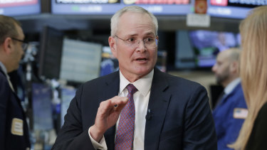 Exxon chief executive Darren Woods's plan to increase investment to boost oil and gas production hit a pandemic-related brick wall last year, when demand for oil and gas – and their prices – plummeted.