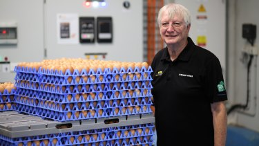 Peter Bell says the squeeze by supermarkets on WA egg producers is very concerning.