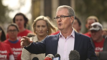Former NSW Labor leader Michael Daley says he is the only person who can heal the wounded party.