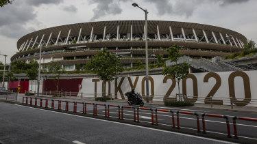 The Olympic Stadium in Tokyo