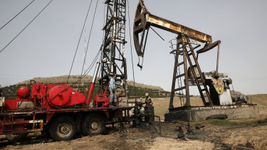 Questions have been raised over Donald Trump's intentions with Syrian oil fields.