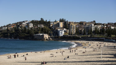 Sydney will be warm on Monday, with temperatures hitting 34 degrees in the west and 32 in the east