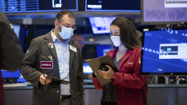 Wall Street is closing out a positive August with losses.