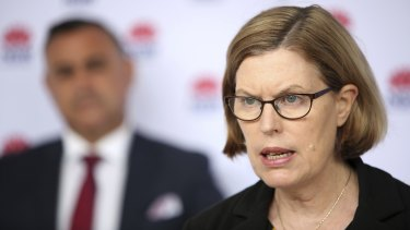 """""""There will be mutations arising everywhere,"""" says NSW Chief Health Officer Kerry Chant."""