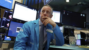 Wall Street sunk on fresh global economy and trade jitters on Tuesday.