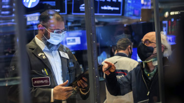 Tech stocks again weighed on Wall Street.