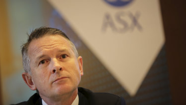 ASX CEO Dominic Stevens.