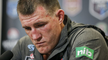 Paul Gallen fears Cronulla's season is slipping away.