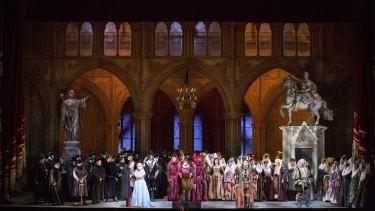 Opera Australia will be presenting the rarely-seen 'Ernani'.