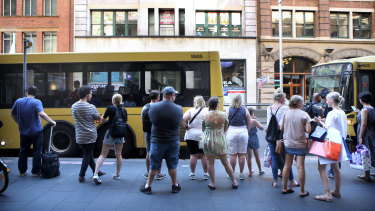 """Transport for NSW says it is """"delighted"""" with the growth of the network."""