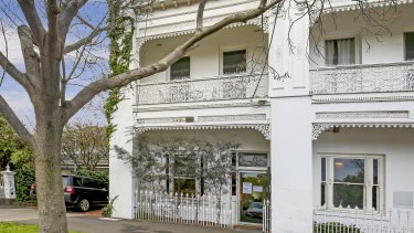 A two-storey Victorian terrace at 49 Cardigan Place sold for $1.725 million.
