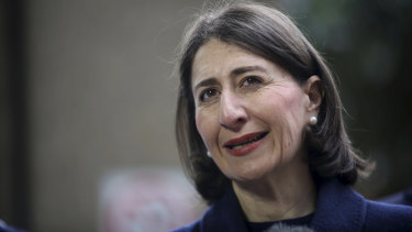 """""""Safety can never be compromised"""": NSW Premier Gladys Berejiklian."""