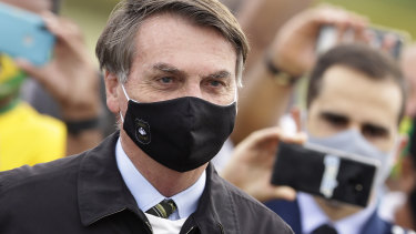 "Brazil's President Jair Bolsonaro contracted the virus after initially dismissing the pandemic as a ""little flu""."