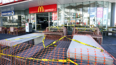 Fast food outlets are still open for takeaway during the pandemic.