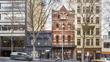 The Bourke Street properties in Melbourne are a block from the city mall.