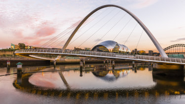 The Gateshead Millennium Bridge ushered in a new era of culture.