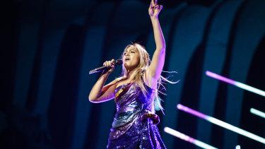 Australia's Eurovision boss is confident Jessica Mauboy has a winning song.