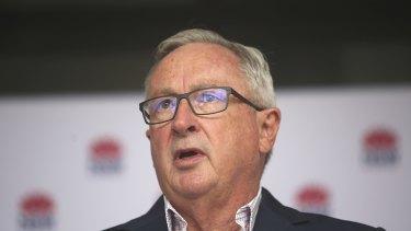 NSW Health Minister Brad Hazzard.