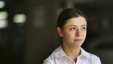 Nicole Pennington is  now excited about the prospect of working in aged care.