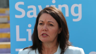 Liza Harvey is the former deputy premier.