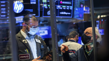 Wall Street surged higher to kick off its week.