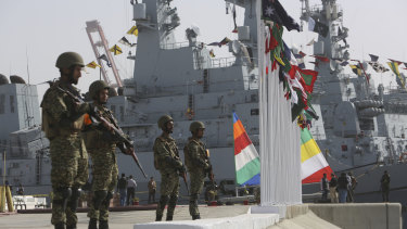 The five-day multinational exercise hosted by Pakistan Navy has begun near the southern port city of Karachi in an effort aimed at enhancing cooperation in keeping the seas safe from pirates, terrorists and smugglers.