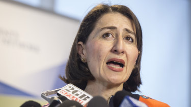 "NSW Premier Gladys Berejiklian said she had ""full confidence"" in the authority to continue to negotiate on behalf of the NSW government and to ""protect the public interest""."