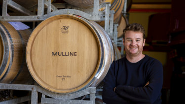 Winemaker Ben Mullen of Geelong winery Mulline