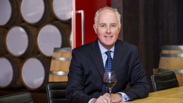 Treasury Wine Estates chief executive officer Michael Clarke.