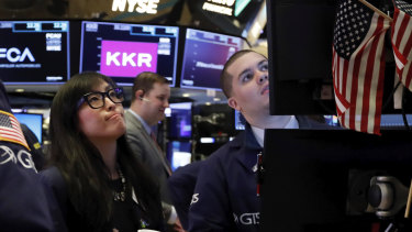 Wall Street's rally extended to a third day.
