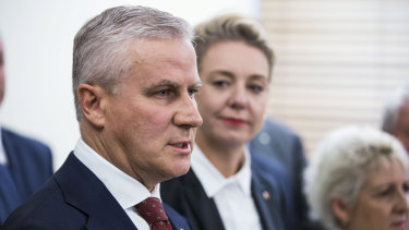 Nationals leader Michael McCormack and deputy Bridget McKenzie have been caught up in a public debate with colleagues over coal power.