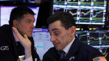 Wall Street went backwards as US-China trade tensions escalated.