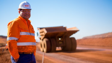 BHP's Edgar Basto will take over its entire Australian operations.