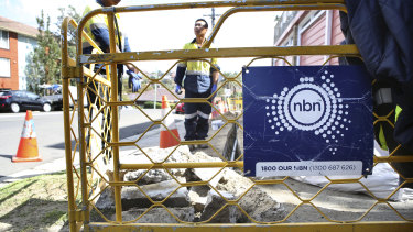 The NBN's valuation is being reviewed, triggering speculation about when the network will be privatised.
