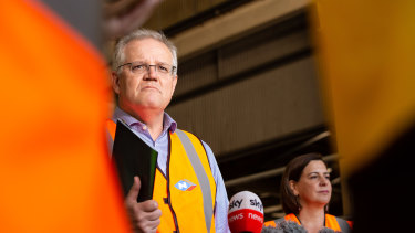 Prime Minister Scott Morrison joined the  Queensland campaign trail at the weekend.