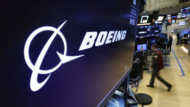 Boeing shares slumped on Monday.