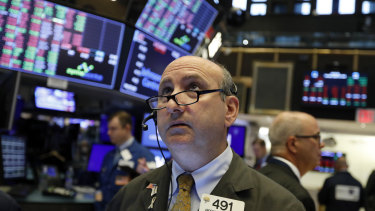 Wall Street regained some of last week's heavy losses on Monday.