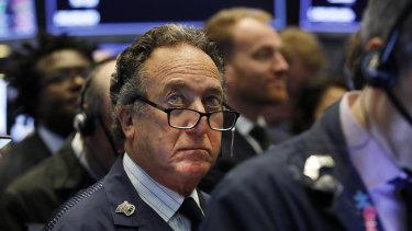 Wall Street slid lower on Friday.