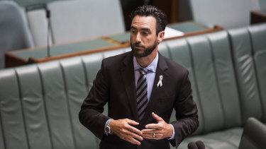 Tim Hammond in Parliament.