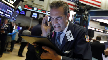 Wall St finally caught up with gloomy economic news this week.