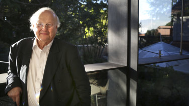 Renowned Australian architect Glenn Murcutt said higher density housing could be built in the backyards of suburbs such as Mosman.