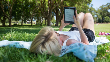 Many devotees of e-books say they'd never go back to print on paper.
