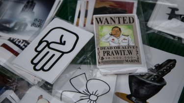 Deputy PM Prawit Wongsuwan's million-dollar watch collection was the subject of a scandal and is a current focus for protesters.